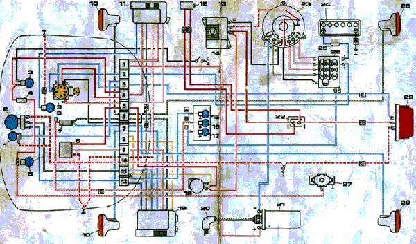 Схема зарядки аккумулятора ваз 1118 калина Схемы рр проводки коммутатора бпв мотоцикл иж ๑ иж планета 5 и иж юпитер...